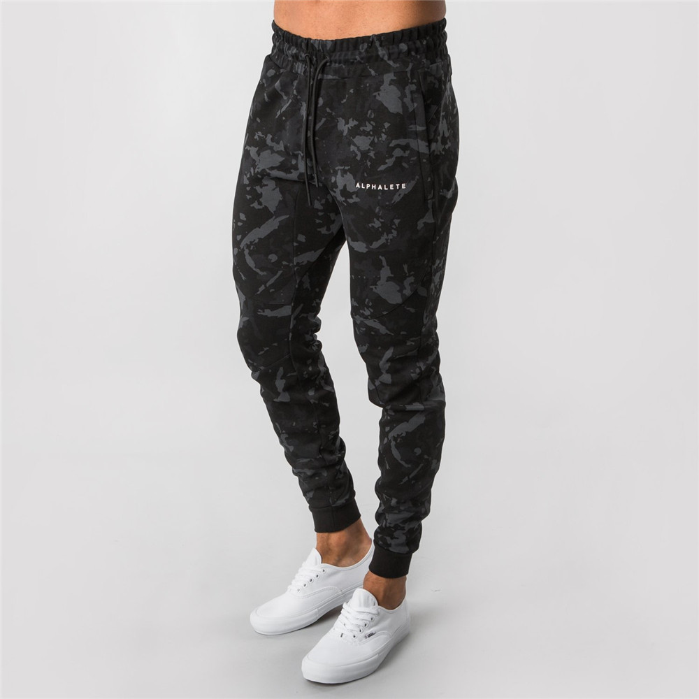 Camouflage Joggers Sweatpants Men Casual Skinny Pants Gyms Fitness Brand Track Pants Autumn New Male Cotton Sportswear Trousers