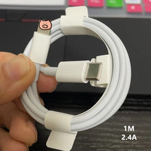 12W 2.4A PD Cable Fast Charging Data Cable for iPhone X XR XS Max 11 Pro Max 8 Plus Quick Charging Type-C to Lighting USB Cable