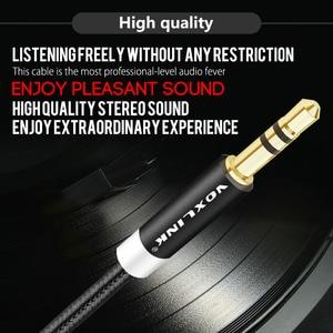 Image 5 - VOXLINK Audio Cable  Jack 3.5 mm Speaker Line Aux Cable for iPhone 6 Samsung galaxy s8 Car Headphone Xiaomi redmi 4x Audio Jack