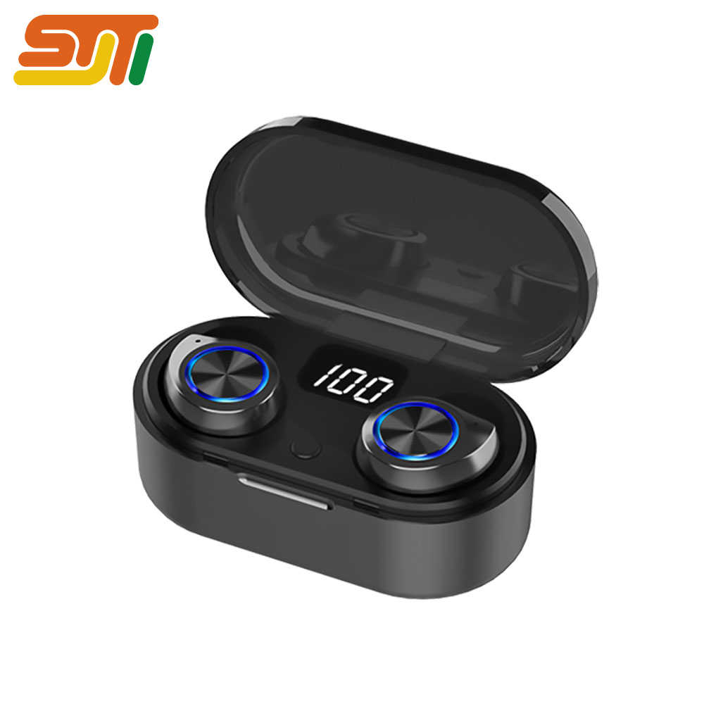 Led universal auriculares bluetooth inalambrico Negro auriculares Estéreo 9D  auriculares bluetooth airdots cascos inalambrico bluetooth xiaomi Auriculares para juegos bluetooth earphone TWS Para  Samsung Android IOS