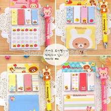 Sticky Note Stationery Memo Paper Office-Supplies School Cartoon 1pack/Lot Removeable