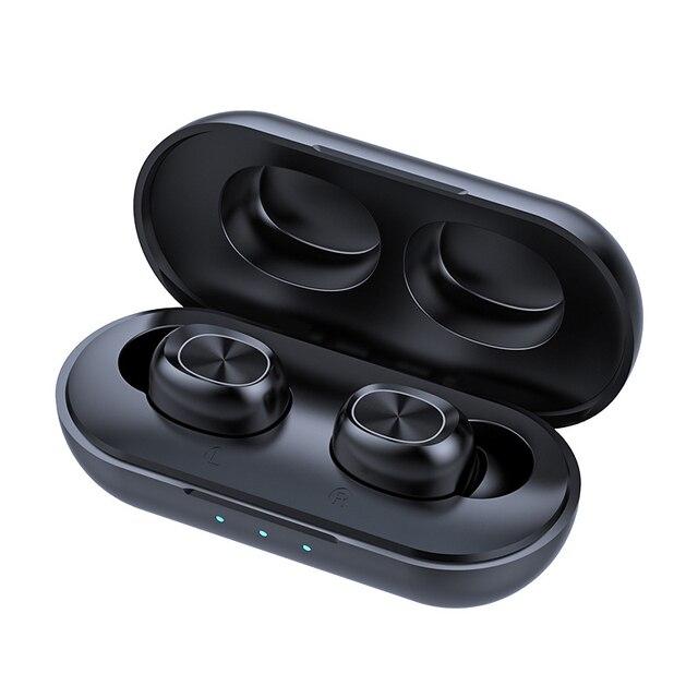 B5 tws 무선 이어폰 스테레오 블루투스 이어폰 무선 이어폰 블루투스 5.0 마이크 터치 음악 전화 헤드셋
