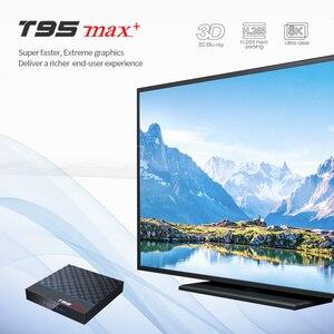 Image 3 - T95Z プラス/T95 最大プラス 16/32/64 ギガバイトの Android 7.1/9.0 4 4K テレビボックススマート tv ボックス 2.4 グラム/5 GHz 無線 Lan BT4.0 セットボックス T95 メディアプレーヤー