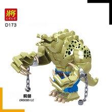 Crocodile Killer Blocks Compatible with Legoinglys Figure Croc Animal Building Plastic Toys For Children