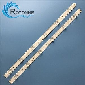 """Image 2 - LED Backlight strip12 lamp For Sharp 49""""TV LC 49CFF5001K RF AJ490E32 0601R 01 0601l A1 LY.45J01G001 LC 49CFE6032E LC 49CUF8472"""