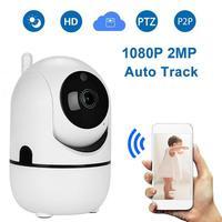HD 1080P WiFi telecamera IP pista automatica Baby Monitor cane intelligente CCTV visione notturna rilevazione di movimento allarme ue sicurezza telecamera interna