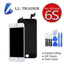 for iPhone 6S LCD Display Screen Replacement Touch Digitizer Assembly 3D Touch Free Shipping+ Free Tools HomeButton Front Camera