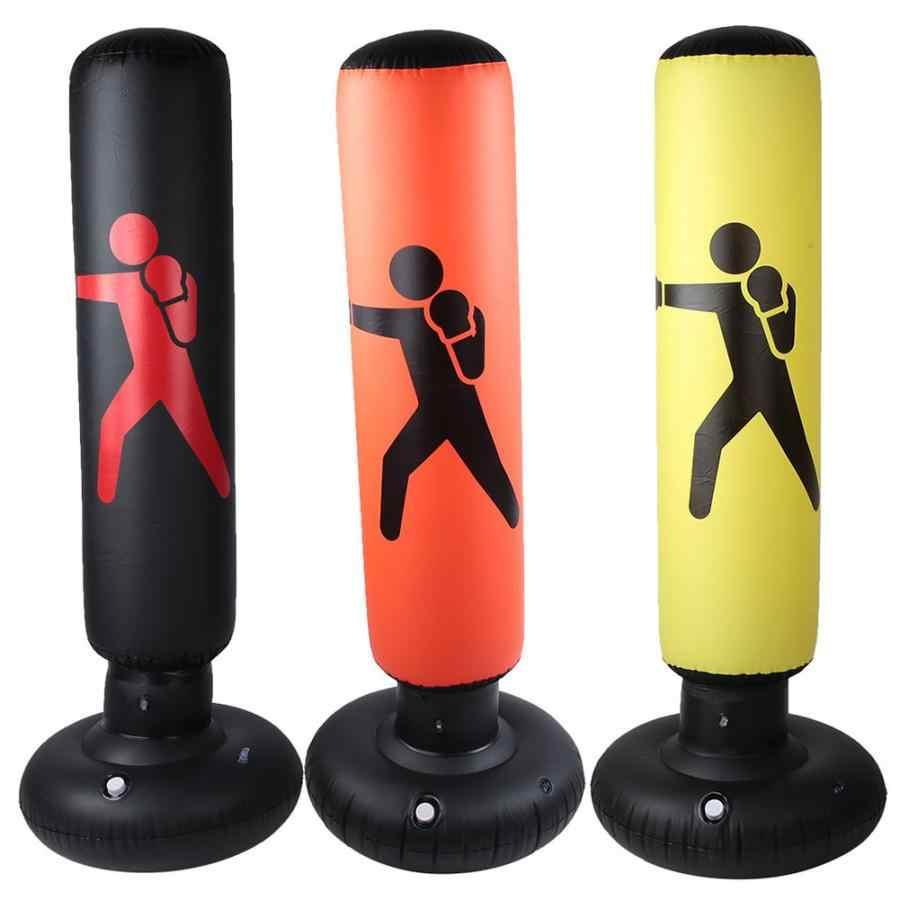 Vaso de Boxeo Hinchable Babyyyon 1,6 m, PVC, para descompresi/ón de ventilaci/ón y Fitness, Transparente