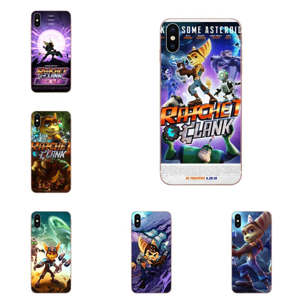 TPU Covers Cases For HTC Desire 530 626 628 630 816 820 830 One A9 M7 M8 M9 M10 E9 U11 U12 Life Plus Game Ratchet And Clank image