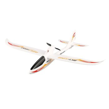 For WLtoys F959S Sky King 3-Channels 2.4G 750mm Wingspan EPO RC Backward Pusher Glider Airplane RTF Model Toys