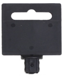 1/4 inch 3/8 inch 1/2 inch 3/4 inch 1 inch Socket Hang Tag Plastic Card Holder Hand Tool Display Marker Banner Plate Hanger
