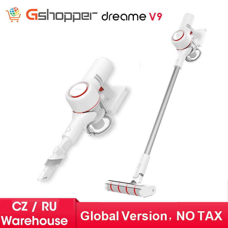 2020 Xiaomi Dreame V9 Vacuum Cleaner Handheld Cordless Stick Aspirator Vacuum Cleaners 20000Pa Car From Xiaomi Youpin