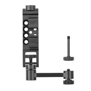 Image 5 - Soporte de teléfono portátil, brazo de extensión recto, accesorio de cámara de cardán de mano, para DJI OM 4 Osmo Mobile 2 3
