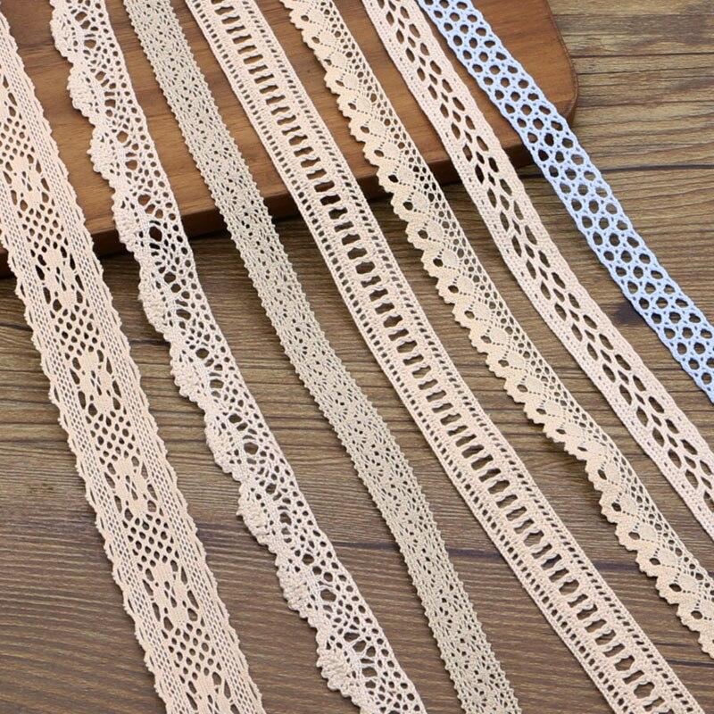 (5 ярдов/рулон) Новый хлопковый сетчатый пояс с вышивкой «сделай сам» материал для ручного шитья
