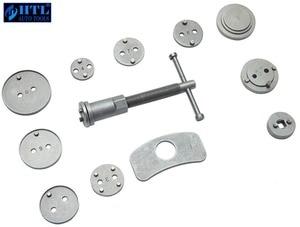 Image 2 - 12pcs Universal Car Disc Brake Caliper Wind Back Brake Piston Compressor Tool Kit For Most Automobiles Garage Repair Tools