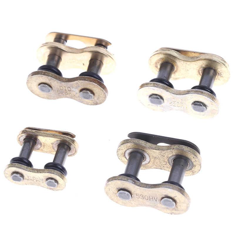 1 Pc 428/520/525/530H Berat Rantai Menghubungkan Konektor Master Joint Link dengan O-cincin untuk Motor Dirt Bike Sepeda Motor