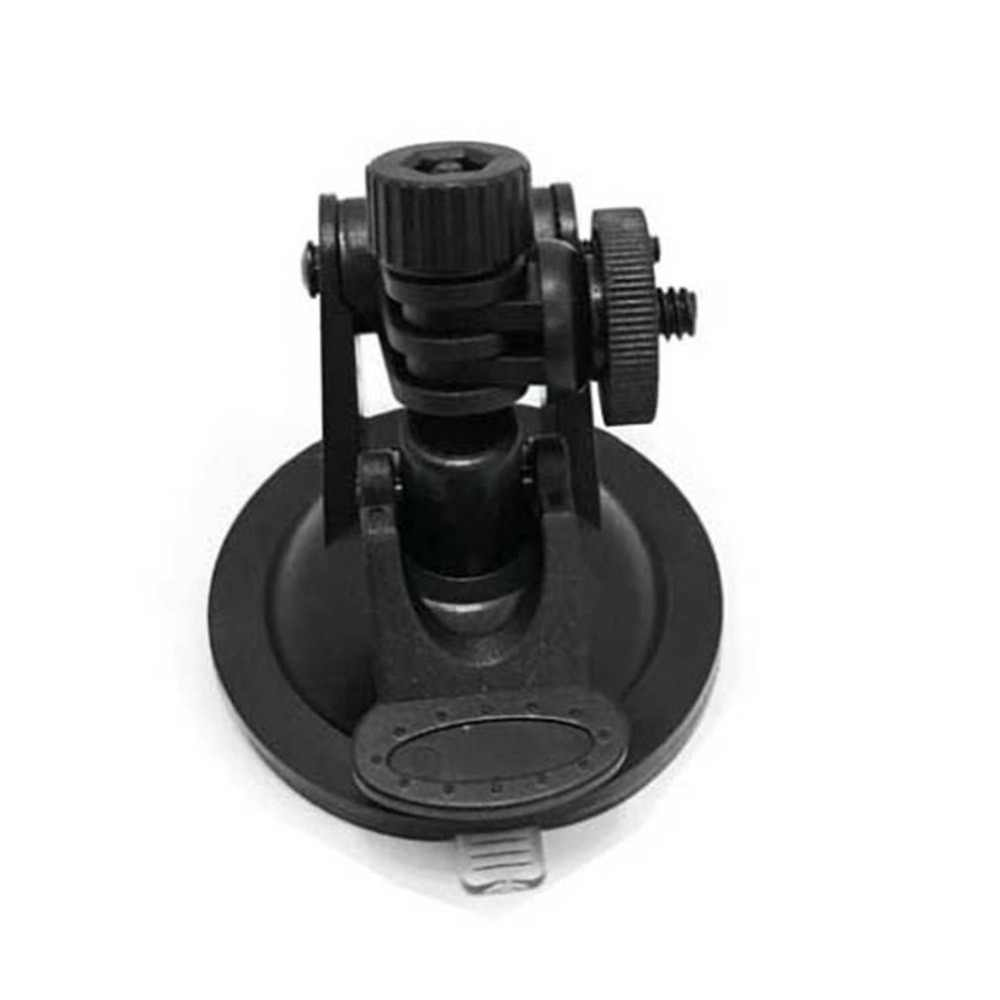 Mini Sucker Car Driving Recorder Mount DVR soporte tornillo conector Rack DV GPS Cámara soporte ABS carga máxima 3kg