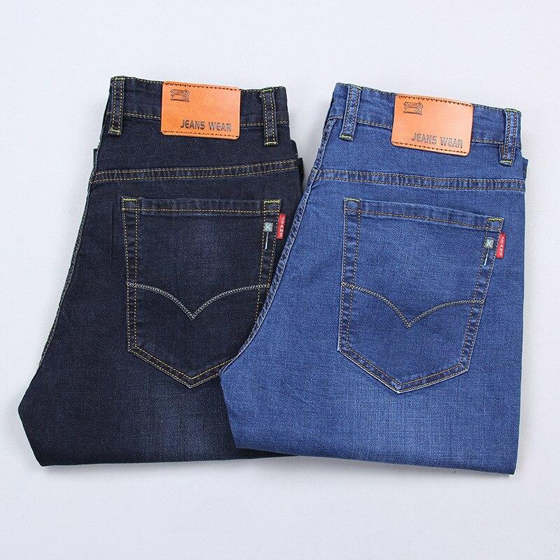 Summer New Products Elasticity Large Size Cowboy Capri Pants Men's 28-40 MEN'S Shorts