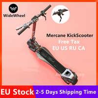 Stock de la UE 2019 nuevo 500 W/1000 W Mercane rueda ancha inteligente Scooter Eléctrico plegable rueda ancha Kickscooter doble patineta del motor