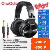 Oneodio Pro-10-auriculares con cable para DJ, para estudio profesional, auriculares estéreo para Monitor, grabación de videojuegos, para teléfono y PC
