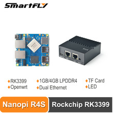 Router Openwrt RK3399 Nanopi R4s Mini Friendlyelec Soc Portable 4GB with Dual-Gbps Ethernet-Ports