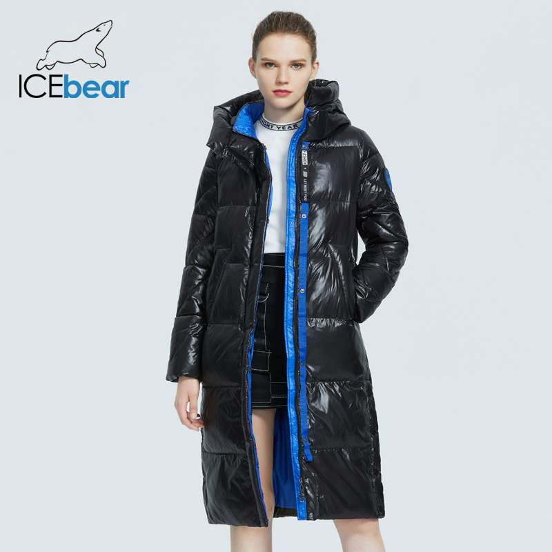 ICEbear 2020 new product women s parka high quality fashion long coat winter high quality women