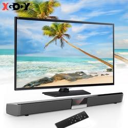 XGODY Soundbar TV Home Theater SR100PLUS 40W Powerful Deep Bass Soundbar Wireless Bluetooth Speaker For Computer TV Set Coaxial