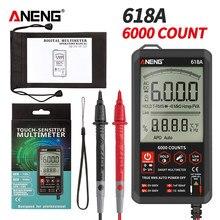 ANENG – multimètre numérique professionnel 618A, mesure de la Diode de capacité de résistance, tension DC/AC