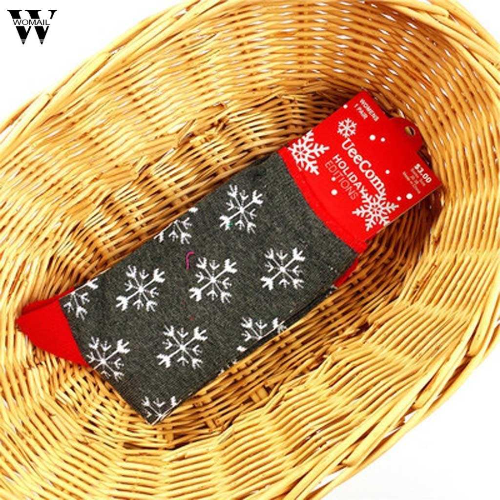 ใหม่มาถึง Carnival Kawaii Christmas ถุงเท้าผ้าฝ้าย Unisex Multi-สีผู้หญิงฤดูหนาวถุงเท้าสบายผ้าฝ้ายฤดูหนาวถุงเท้า