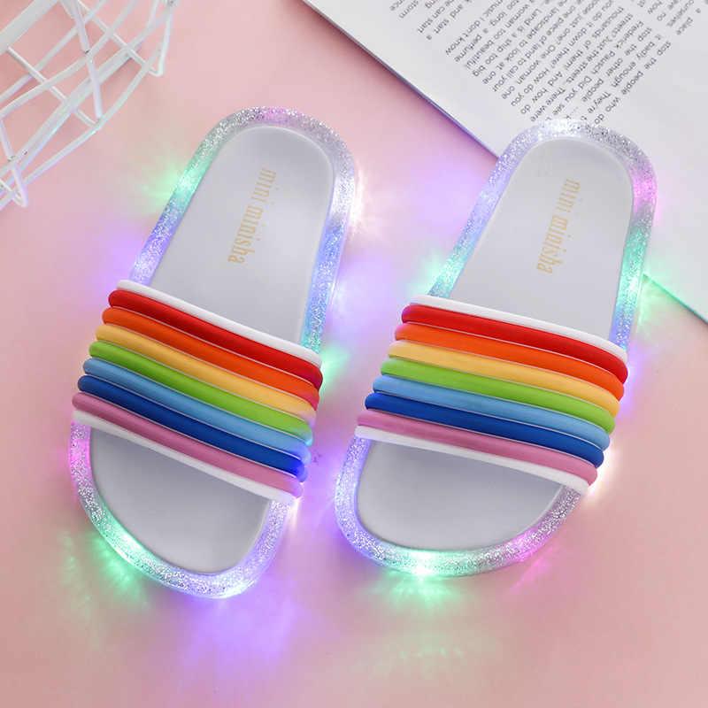 Baby Shoes LED Flashing Shoes Girls