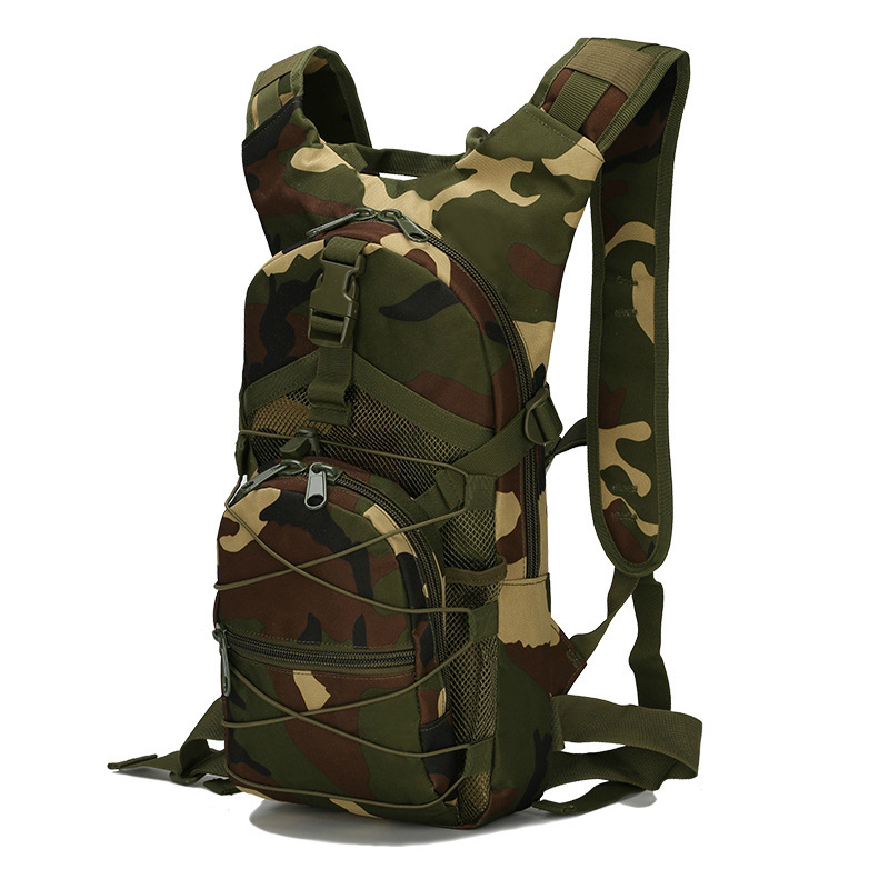 Mountain Climbing Hiking Backpack Outdoor Camouflage Bag Multi-functional Jungle Tactical Bag Camping Travel Shoulder Bag