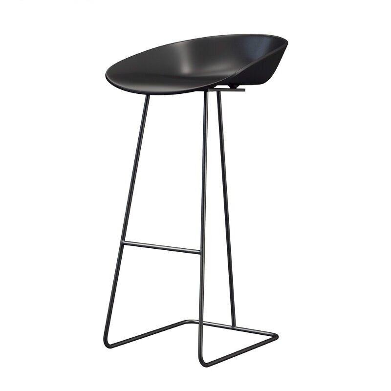 Nordic Bar Chair Iron Bar Stool Modern Simple Household Light Luxury High Chair Creative Net Red Gold Bar Chair