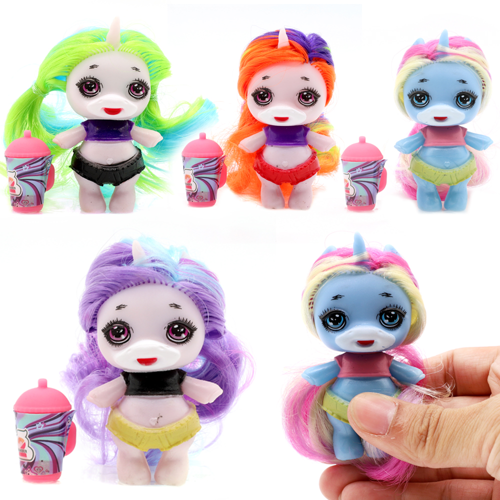 Baby Reborn Original Figure Toy Lols Surprise Poopsies Doll With Hair Silcone Slime Unicorn BJD Dolls Toy For Girl Children Gift