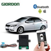 Universal PKE Smart Key Smartphone Remote Start Stop Control Car Alarm