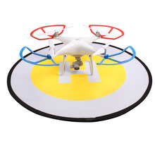 Hot Drone Accessories 80cm Fast-fold Landing Pad RC Drone Parking Apron for DJI Phantom Spark Mavic Pro Xiaomi fimi X8 Foldable(China)