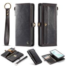 Retro Leather Case Voor Samsung S20 Ultra S10 Plus S9 S8 S10E Case Flip Wallet Cover Telefoon Case Voor Samsung galaxy Note 20 10 9 8