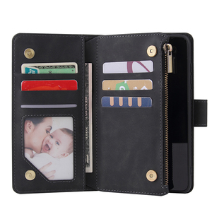 Image 4 - Zipper Wallet Leather Phone Case For Huawei P40 Pro P30 Lite Mate 30 Pro Honor 20 10i P Smart 2019 Flip Case Book Magnetic Case