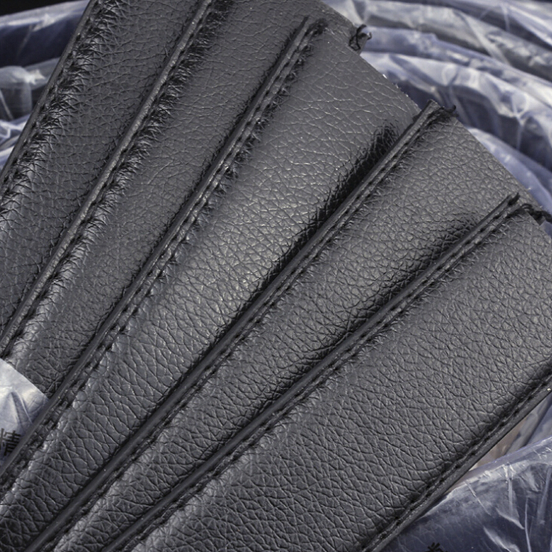 No Buckle Wide Leather Automatic Belt Body Strap Without Buckle Belts Men Good Quality Male Belts