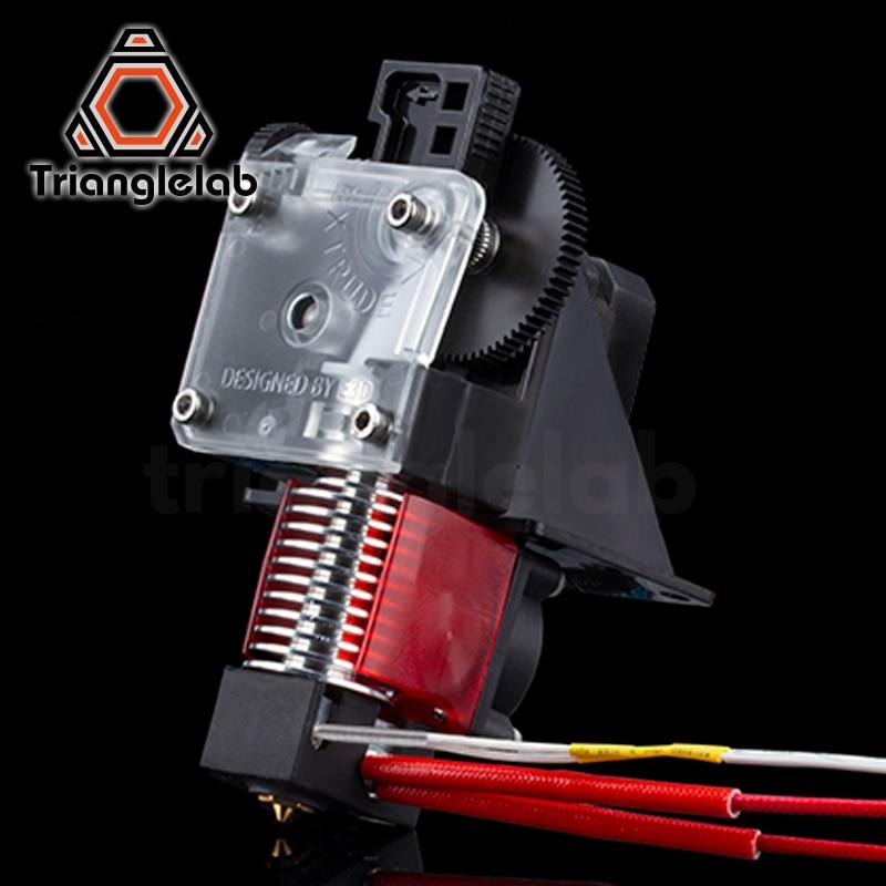 Trianglelab 3D printer titan Extruder for 3D printer reprap MK8 J-head bowden free shipping for CR10