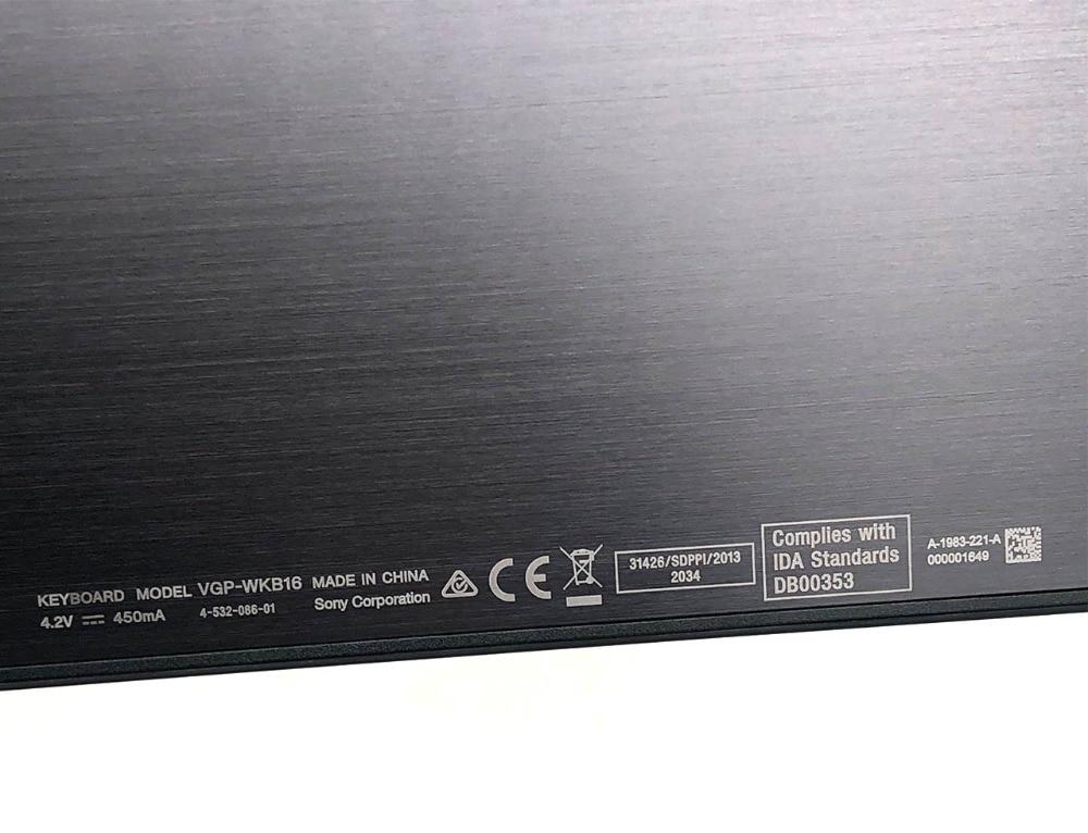 泰文 索尼SONY WKB16 tap11 svt112 无线键盘 Thailand Wireless Keyboard  for SONY SVT112100C SVT112100CR SVT11218SCB SVT11218SCW