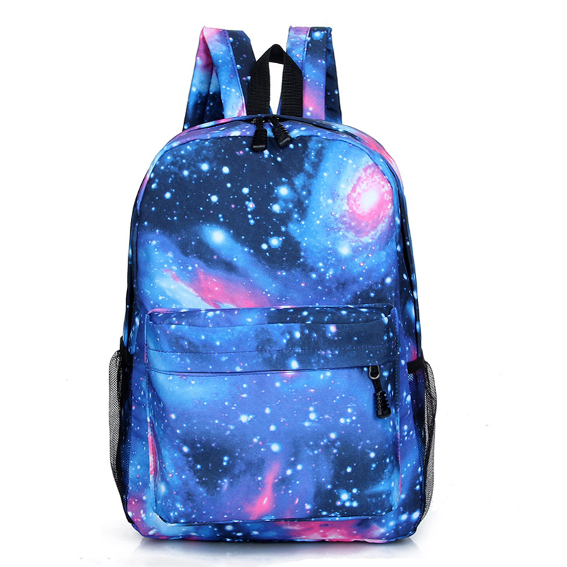 Customize Your Image Backpack School Bags For Teenage Girls Boy Women Backpack Bookbag Mochila Galaxy Laptop Backpack Travel Bag