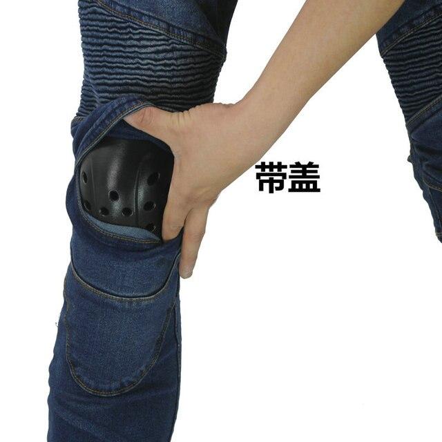Nouveau KOMINE pantalons de Moto hommes Moto Jeans équipement de protection équitation Touring pantalons de Moto Motocross pantalons Pantalon Moto 4