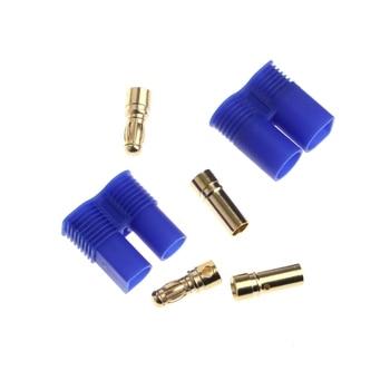 EC3x10 10 PAIR Male /& Female RC EC3 Lipo Battery Connector Gold Bullet Plug