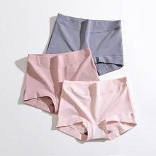 Roupa interior feminina de algodão puro novo outono e inverno shorts para mulher cozy shorty femme antibacteriano boxer mujer sexy hotpants