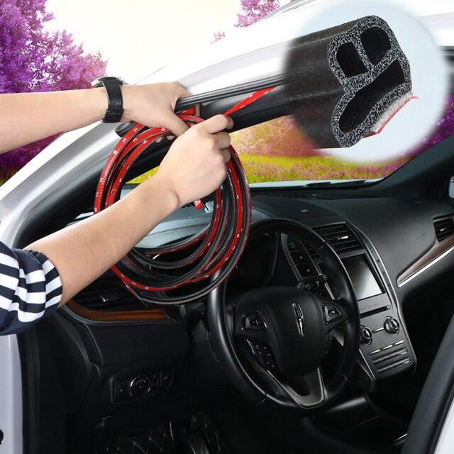 Type L Rubber Car Door Universal Sound Insulation Sealing Strip Car Door Seal Soundproof Shape BD Seal Car Door Rubber Strips