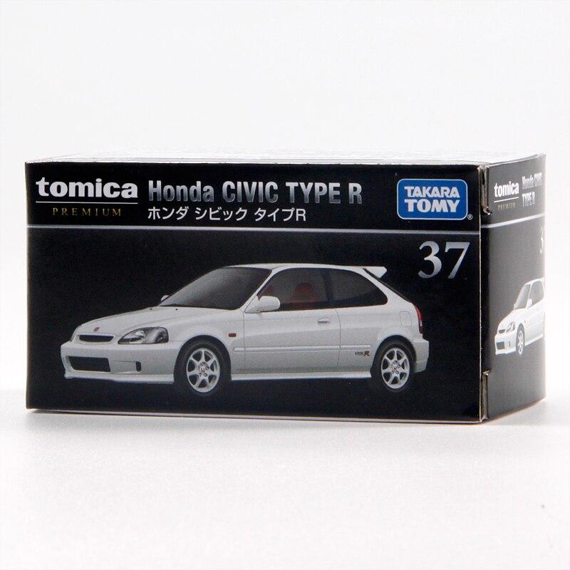 Takara Tomy Tomica – véhicule prime 37 Honda CIVIC TYPE R en métal moulé sous pression, modèle de voiture jouet