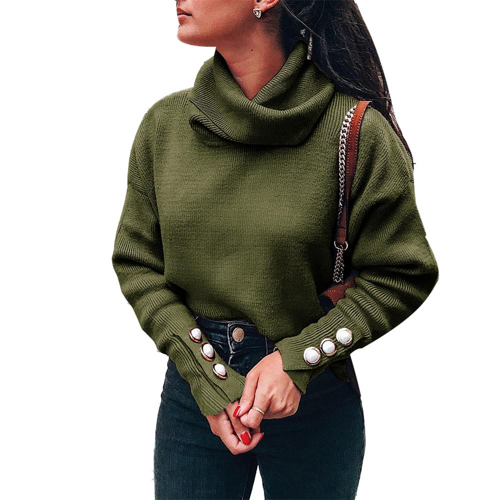 New-coming Autumn Winter Turtleneck Pull Sweater long sleeve  sweater