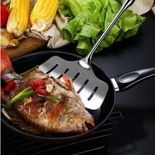 Тернеры из нержавеющей стали кухонные инструменты Кондитерская выпечка инструмент для пиццы стейк лопатка Черпак Sep#19