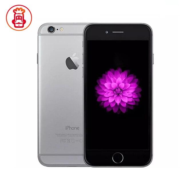 هاتف ابل ايفون 6 الاصلي مفتوح 1GB RAM 4.7 بوصة IOS 1.4GHz 16/64/128GB ROM 3G WCDMA 4G LTE هاتف محمول مستعمل 1