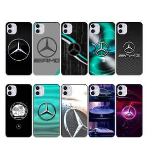 Mercedes Benz AMG Car case coque fundas for iphone 11 PRO MAX X XS XR 4S 5S 6S 7 8 PLUS